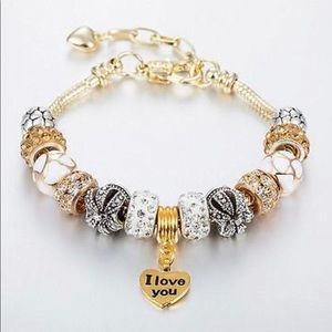 Jewelry - I love you charm bracelet